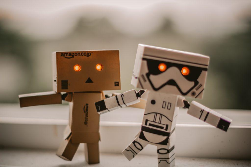 Robots taking over human jobs